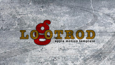LogoTrod Apple Motion Template