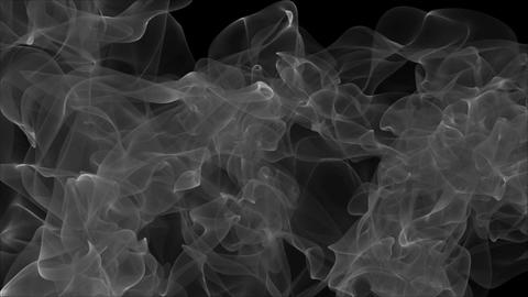 Abstract background with smoke. Seamless loop Animation