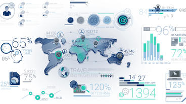 35 Corporate Infographic Elements After Effects Templates