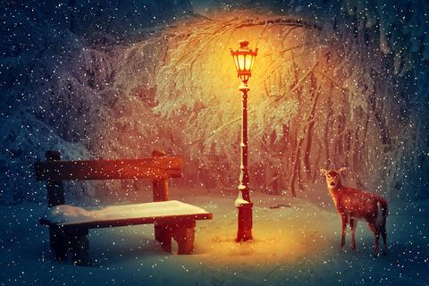 winter silence Foto