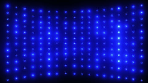Wall of Blue Lights Animation