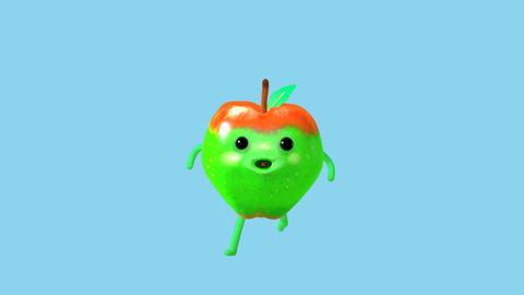 Apple jogging Image