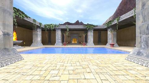 Palace garden Image