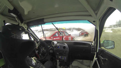 Car collision Footage