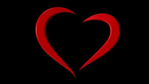 3d Heart Loop Image