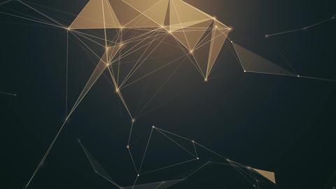 Sepia Plexus Background Animación