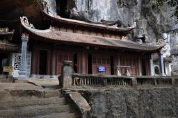 Bich Dong pagoda in Ninh Binh, Vietnam Foto