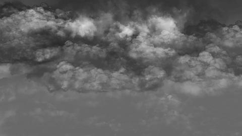 Grayscale sky Animation