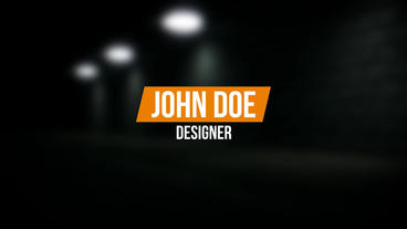 Creative 4K Lower Thirds After Effects Template