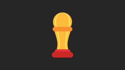 Award Animated Icon Animation
