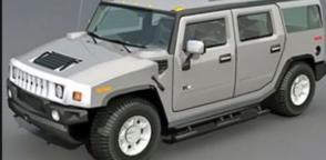 Hummer-h3 3D Modell