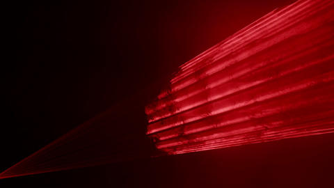 Video of red laser show in 4K Footage
