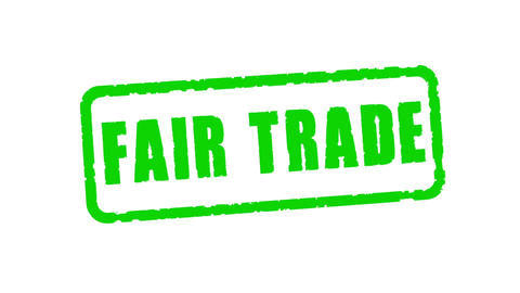 Stamp Fair Trade Animación