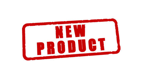 Stamp NEW PRODUCT Animation
