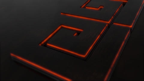 3D BLACK LOGO After Effects Template