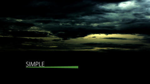 Simple lower thirds v2 After Effects Template