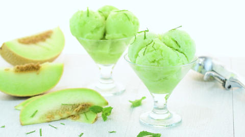Melon flavored ice-cream Live Action
