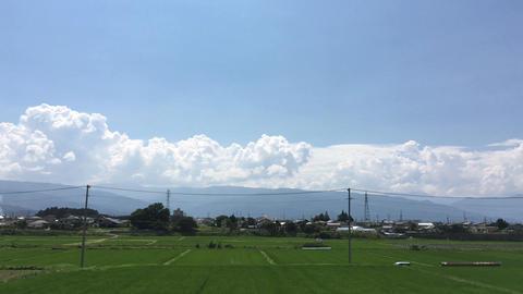 Sky-clouds-summer-20170707-0004 Footage