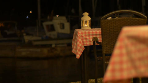 Romantic Tables near Harbor 画像