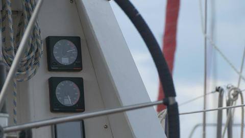 Nautical Yacht Gauges Filmmaterial