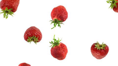 Falling strawberries ビデオ