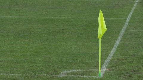 Football Corner Flag Footage