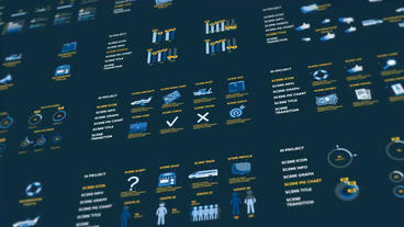 Infographics pictures Plantilla de After Effects