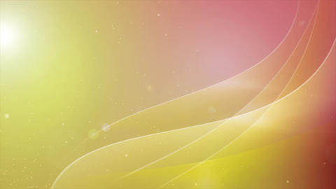 Abstract Motion Background Shining Waves and Particles Seamless Loop Background Animation