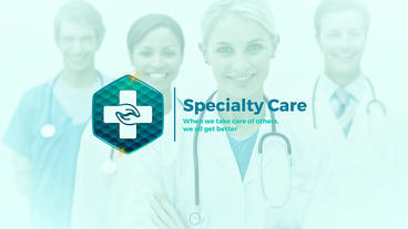 Medical Healthcare Promo After Effects Template