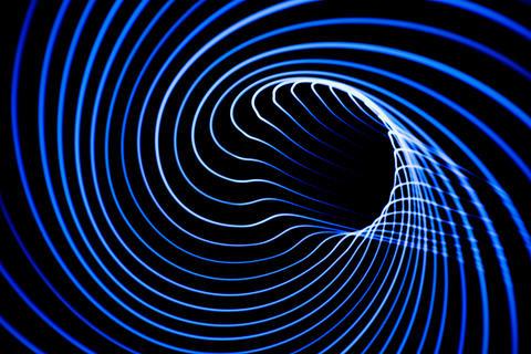 Sound waves in the dark Photo