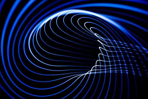 Sound waves in the dark Fotografía