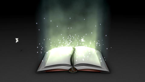 Fantasy and magical book animation Animation
