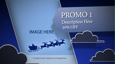 Sleigh Ride After Effects Template
