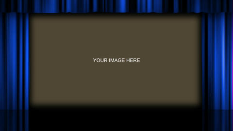 Theater Curtains Effect 1 After Effects Template