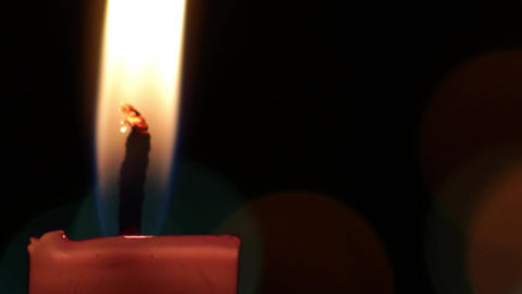 """Real candle, suitable for romantic , religious or Christmas """"xmas"""", new year Footage"""