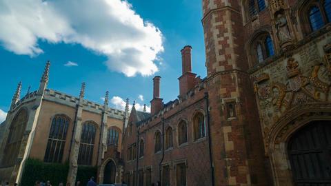 Trinity College, Cambridge, England, UK Footage