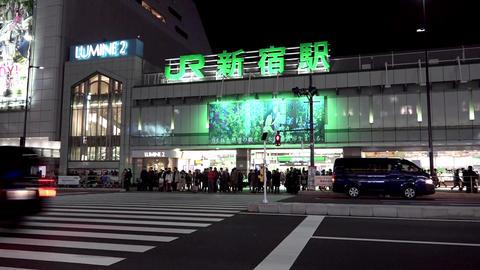 Shinjuku Station in Tokyo Japan 画像