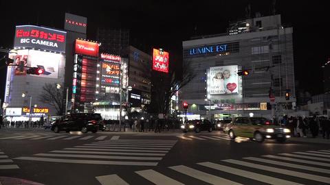 Shinjuku Tokyo Japan Footage