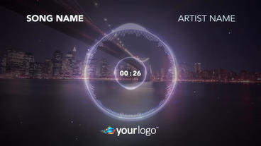 Music Visualizer 02 – Apple Motion Template Apple Motionテンプレート