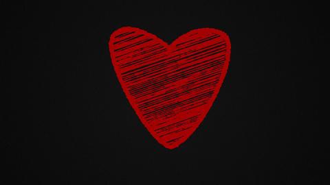 Chalk-heart-black Animation
