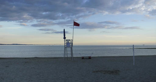 Mediterranean Sea Lifeguard Footage