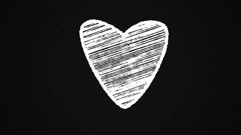 Chalk-heart-white2 Animation