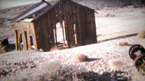 1972: Ski Doo ghost town abandoned gold mining camp from early 1900s Footage