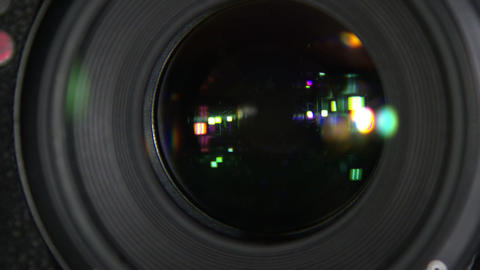 Aperture of the camera Footage