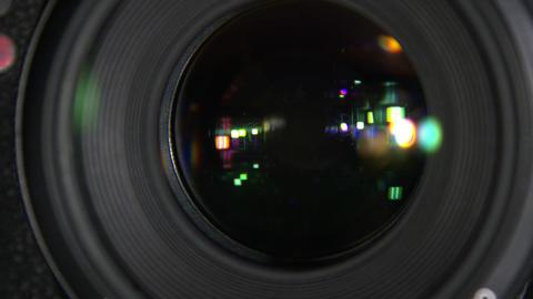 Aperture of the camera Filmmaterial