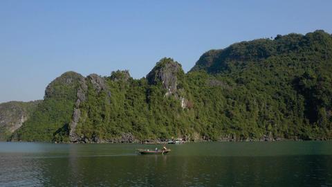 Beautiful views of Cat Ba Island Footage