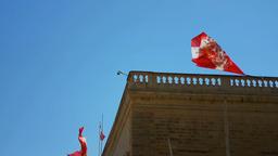 Valletta, Malta - June 25, 2017: Grand Parade in front of The Grand Master's P Archivo