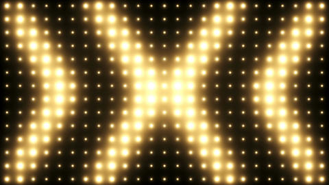 Lights Wall Flashing Vj Loop Background, Stock Animation