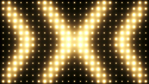 Lights Wall Flashing Vj Loop Background Stock Video Footage