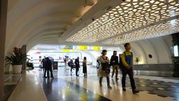 Inside Abu dhabi Airport Terminal Footage